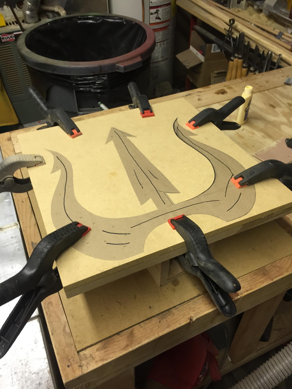 king triton u2019s trident  u2013 myers u2019 workshop